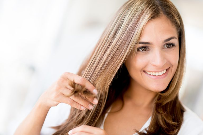 How to straighten wavy or curly hair