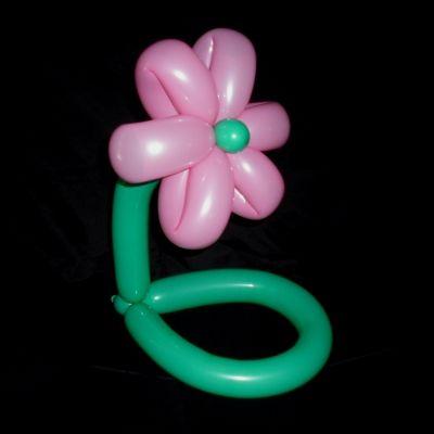 Flower Balloon Hat