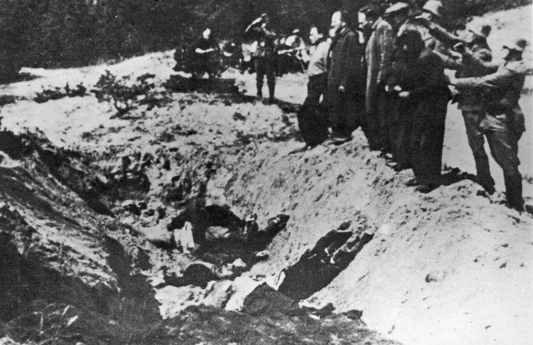mass murder at babi yar ravine