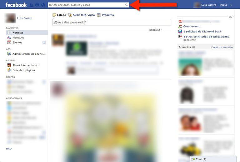 Bloquear contacto de Facebook