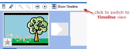 Edit video clips in Windows Movie Maker timeline