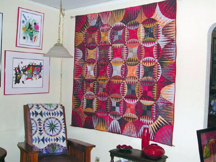 New York Beauty And Other Quilts With A Circular Theme