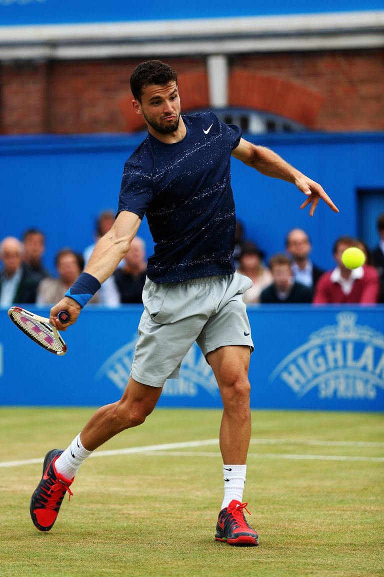 Photo of Grigor Dimitrov - Forehand Start of Swing