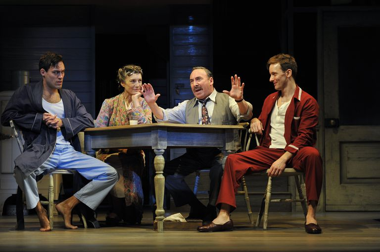 The Royal Shakespeare Company's production of Arthur Miller's Death of a Salesman at the Royal Shakespeare Theatre i