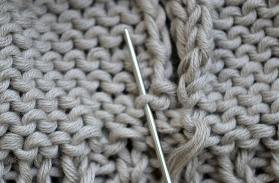 Knitting Joining Side Seams : How to work seams in reverse stockinette stitch
