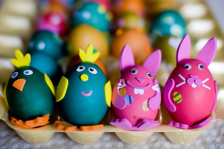 11 ideas para decorar huevos de pascua for Como pintar huevos de pascua