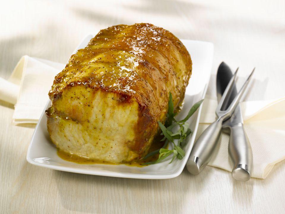 Honey Mustard Pork Roast