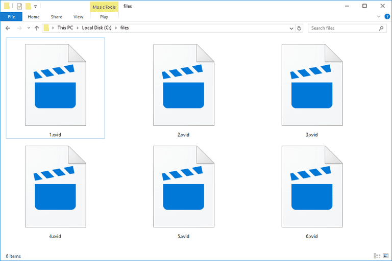 XVID Files