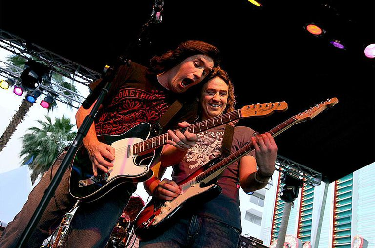 Little Texas performs onstage during the Academy of Country Music All Star Concert at the Fremont Street Experience on May 12, 2007 in Las Vegas, Nevada.
