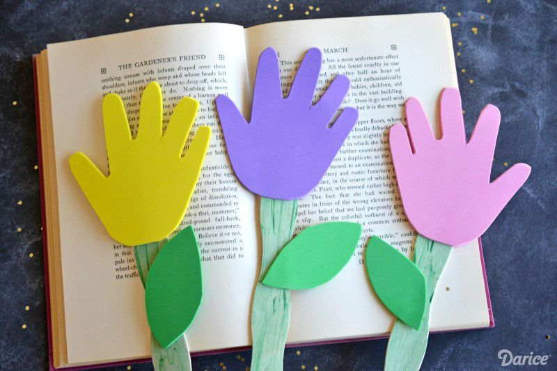 Simple Handprint Crafts For Kids