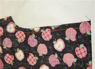 Finished sewn seam