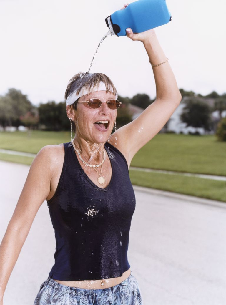 Women Pouring Water