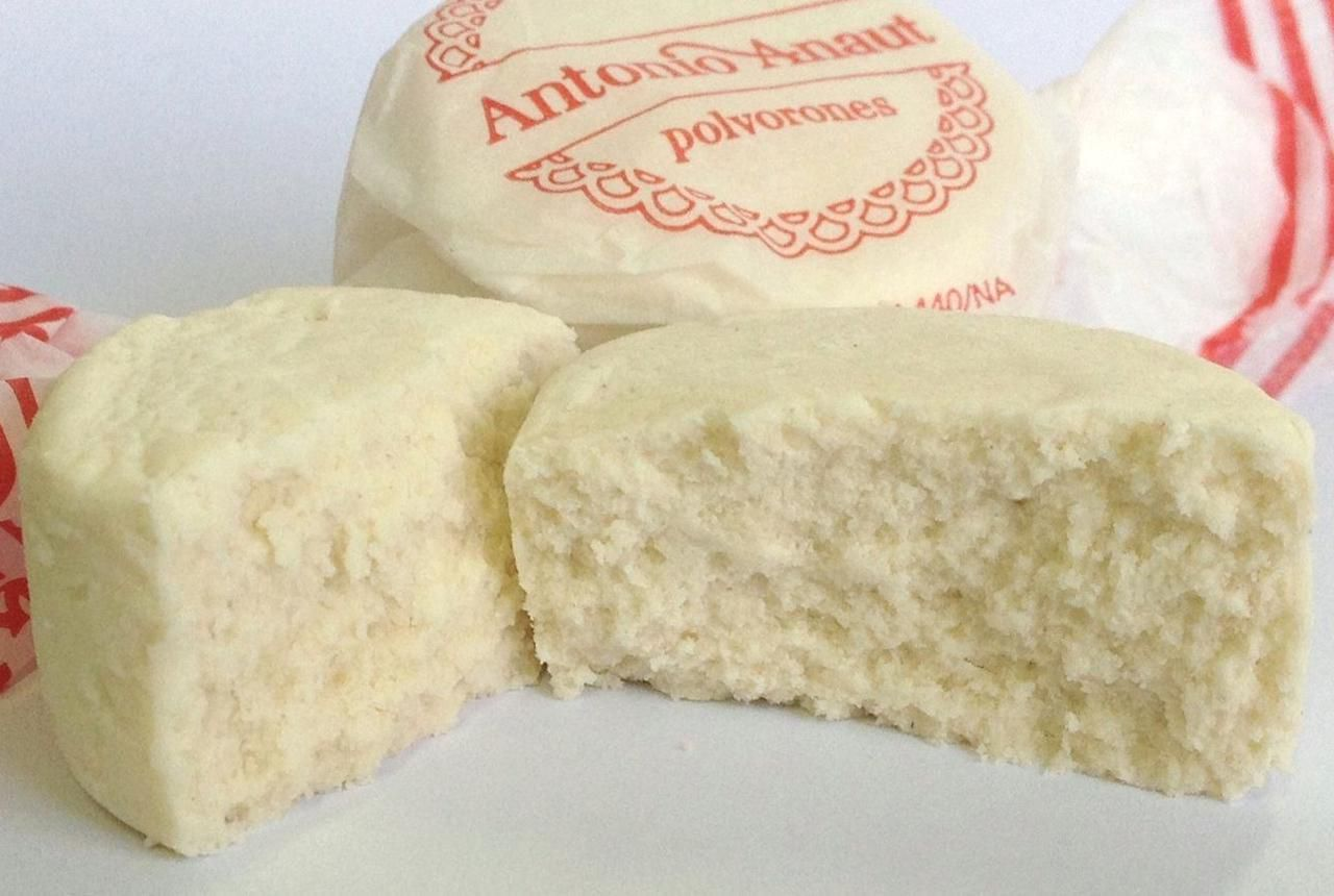 Spanish Almond Cookie Polvorone Recipe