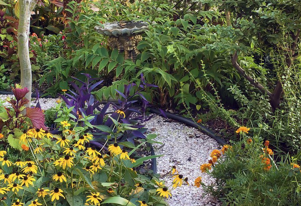 small garden path - Flower Garden Path