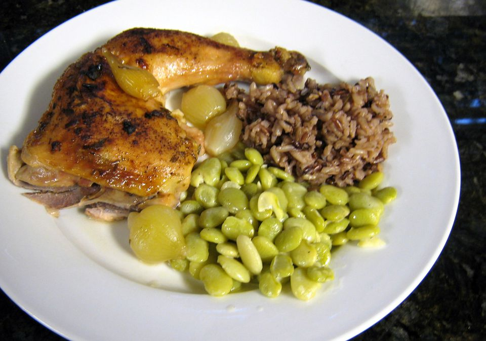 Baked Chicken With Lemon and Garlic