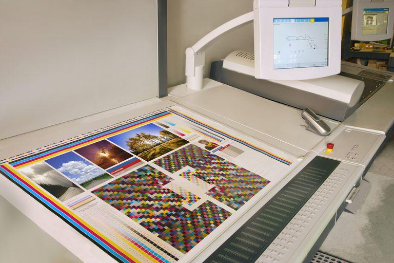 Print Shop Work Station