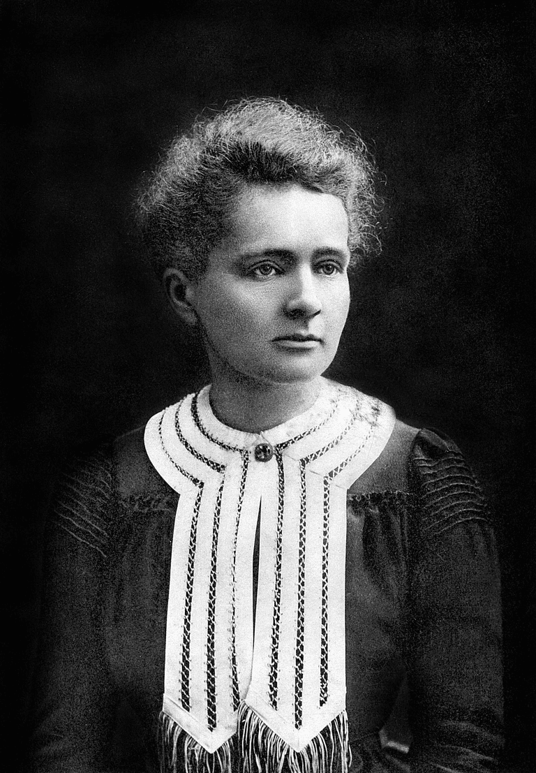 Marie Curie in Nobel Prize portrait, 1903