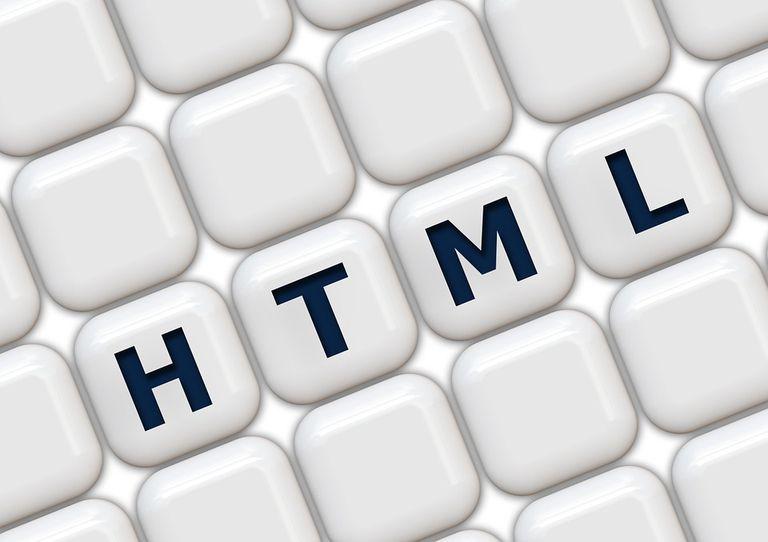 HTML letters on keyboard