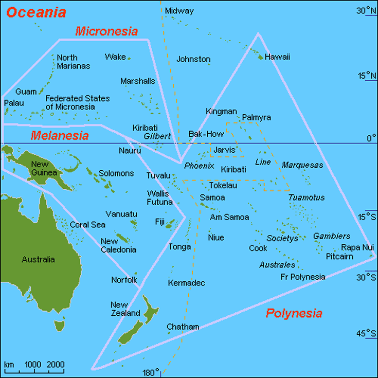 Tourism Boards of the Pacific Island Countries of Oceania