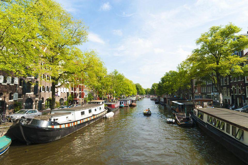 Canal, Amsterdam.