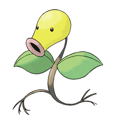 Bellsprout - Ken Sugimori's Official Artwork