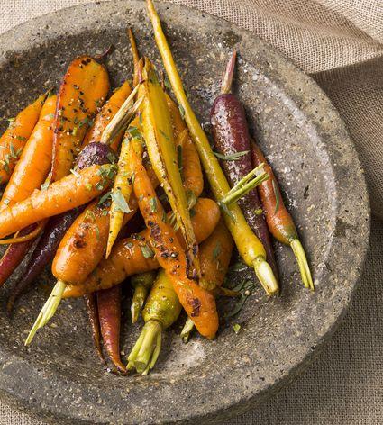 Apple Glazed Carrots Side Dish Recipe