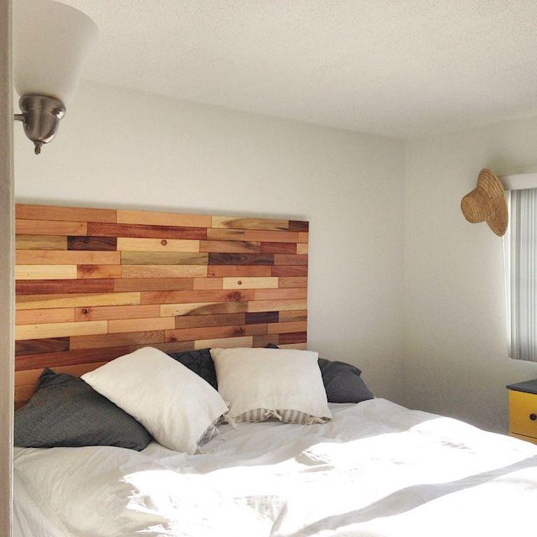 C mo hacer cabeceros de cama baratos de madera - Cabeceros de cama rusticos ...