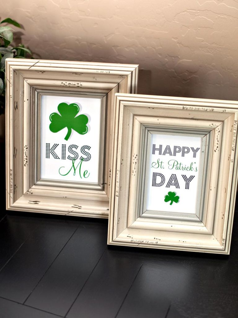 13 free diy st patrick u0027s day decorations you can print