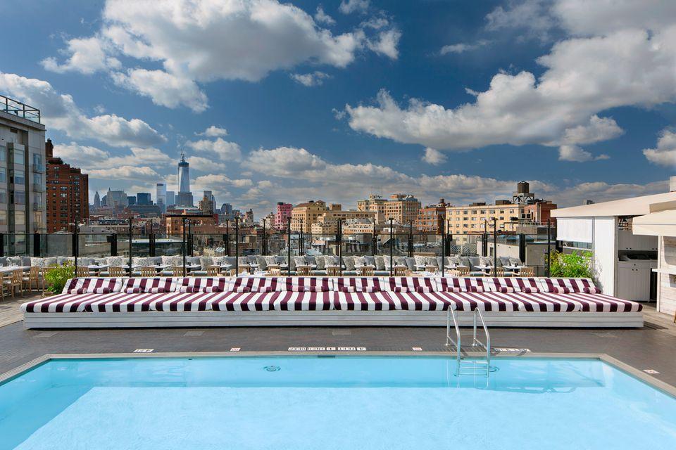 Best Hotel Swimming Pools in Manhattan