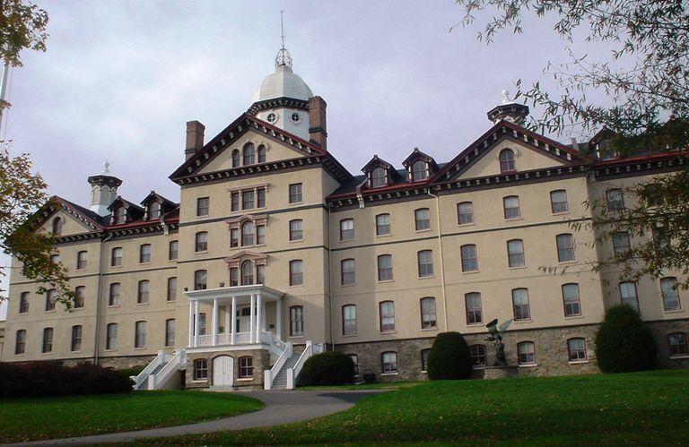 Old Main at Widener University