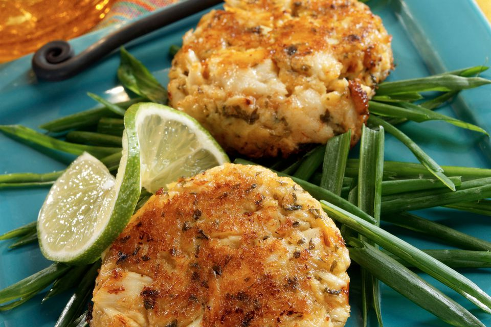 Gluten-free crab cake