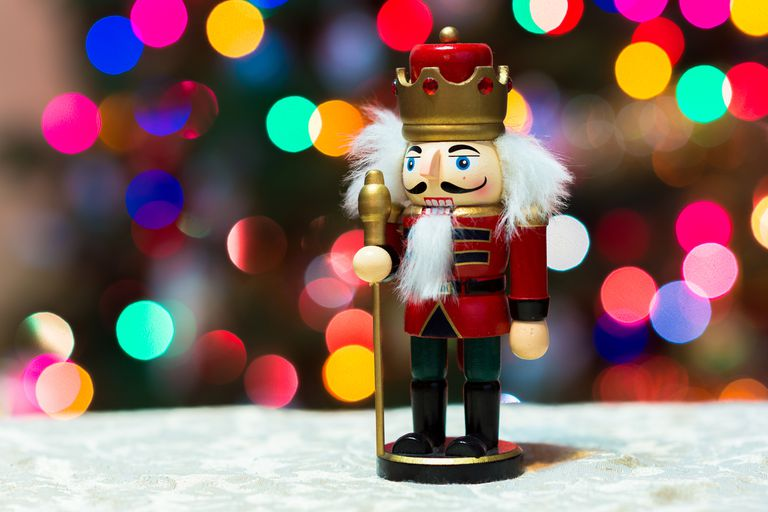 Christmas Bokeh, Nutcracker