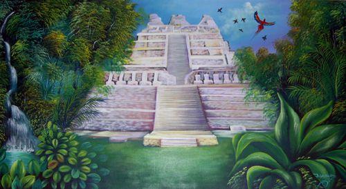 Mayan Painting