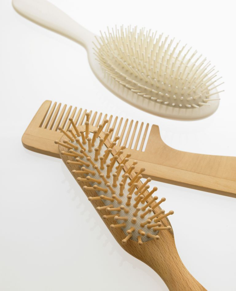 Keep your combs and brushes clean.
