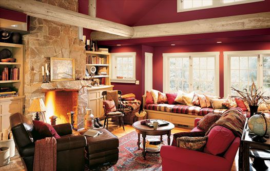 Find paint color inspiration for your living room for 9 x 13 living room