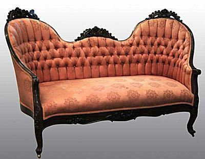 Victorian Love Seat Price or Value Guide - Victorian Furniture Identification And Value Guide