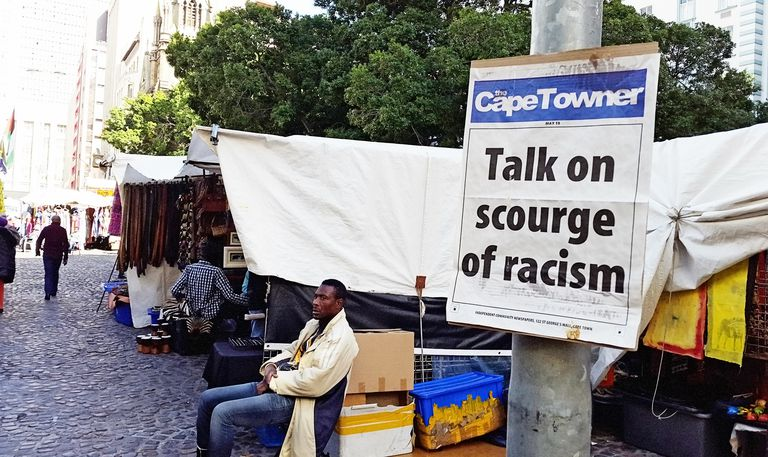Cape Town newspaper promoting talk on 'scourge of racism'