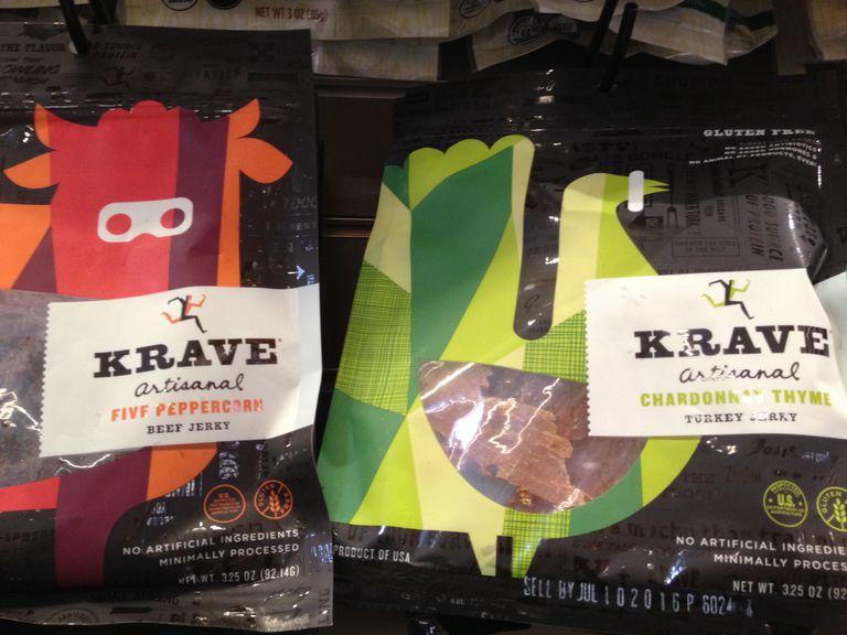 Krave Jerky's new branding