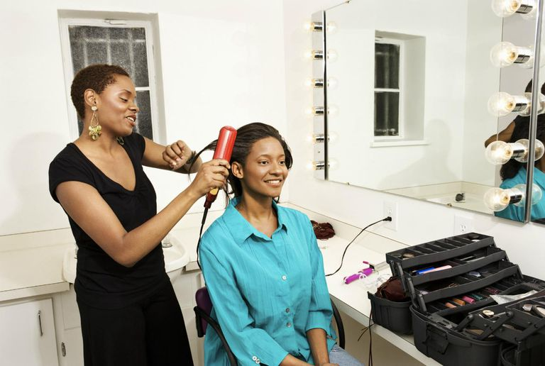 Avoid too much pressing during your transition to natural hair.