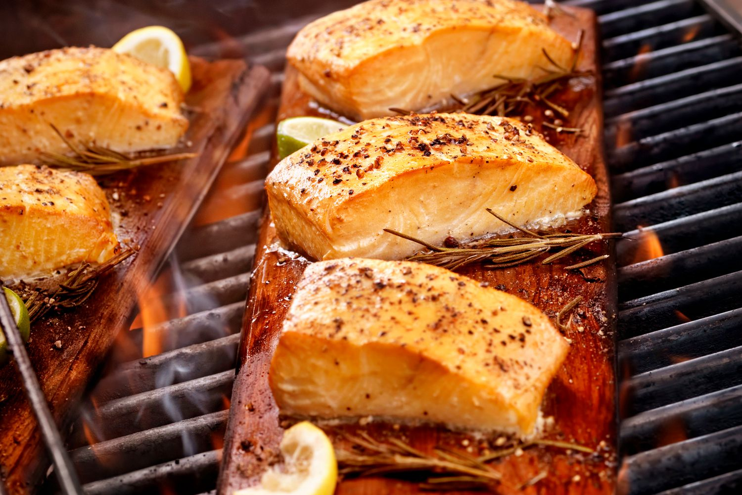 Easy grilled salmon recipe see how to make smoked salmon on the grill ccuart Gallery