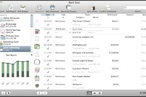 iBank 4 has all the personal finance features you need and easy to use account registers.