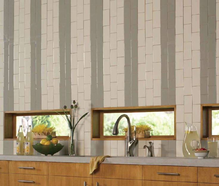 Vertical Subway Tile how subway tile can effectively work in modern rooms