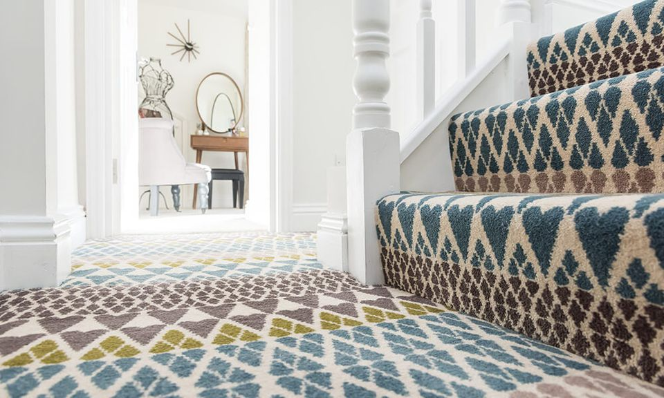 Libertry Fabrics Carpet Hearts