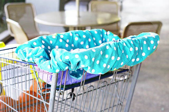 DIY Universal Shopping Cart Cover