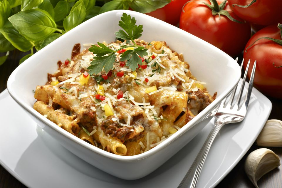 Beef Macaroni and Cheese Casserole