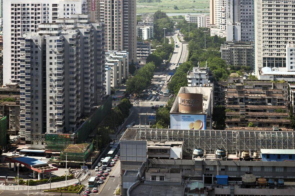 Shennan Boulevard, Shenzhen