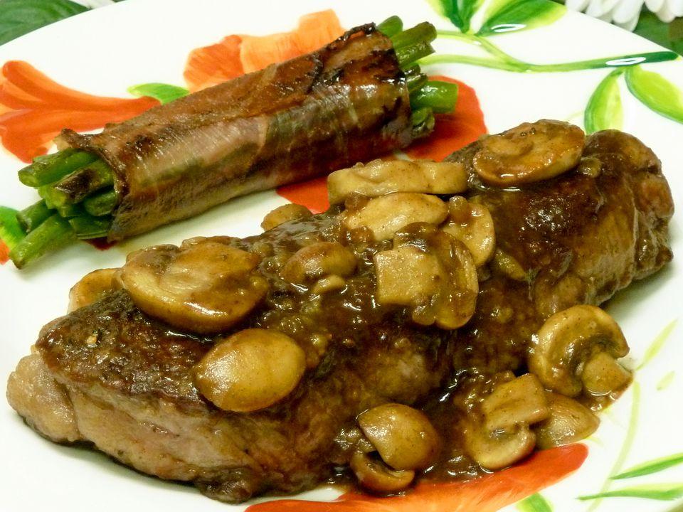 steak recipes, beef recipes, mushrooms, marsala, wine, receipts