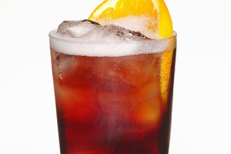 Campari Americano Cocktail