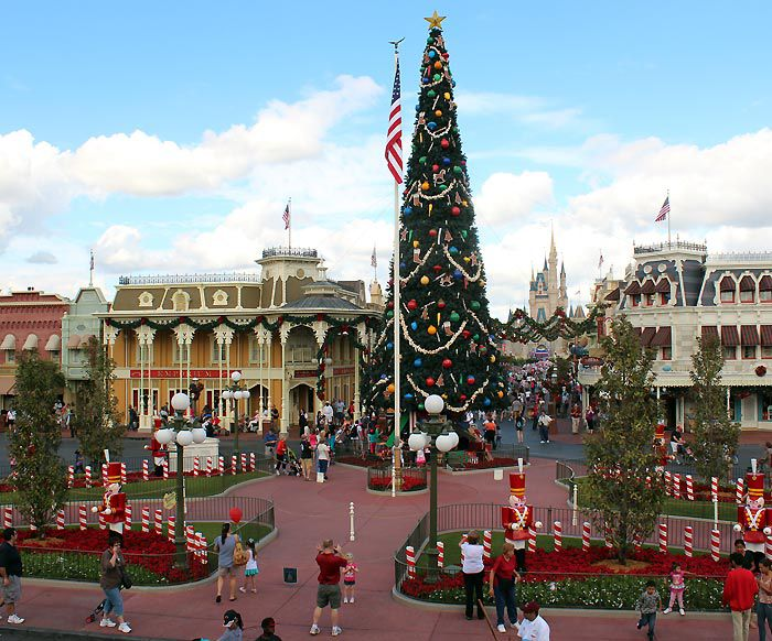 It's beginning to look a lot like Christmas at Disney World.