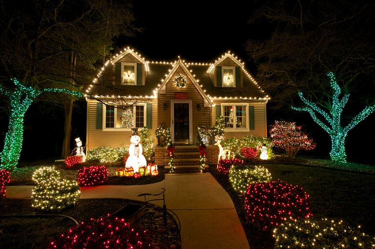 Christmas Lights And Outdoor Holiday Decorations
